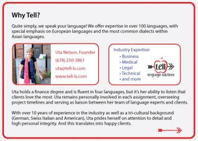 Language Solutions