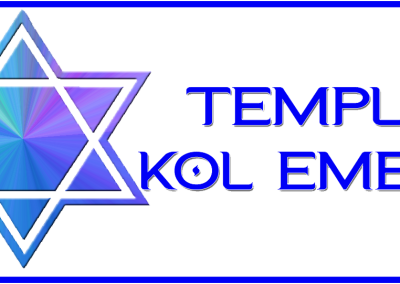 Temple Kol Emeth Logo